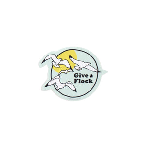 Give a Flock Sticker