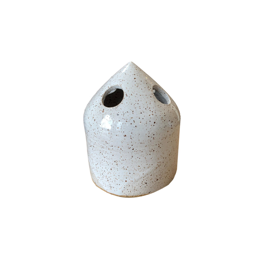 Ceramic Toothbrush Holder White