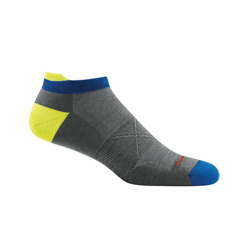 Darn Tough Vertex No Show Tab Men's Sock Grey