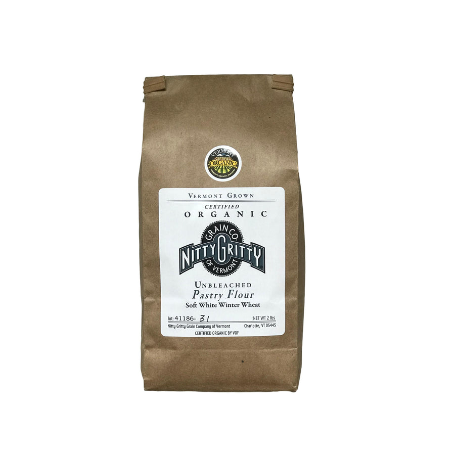 Nitty Gritty Organic Pastry Flour 2 Lb Bag