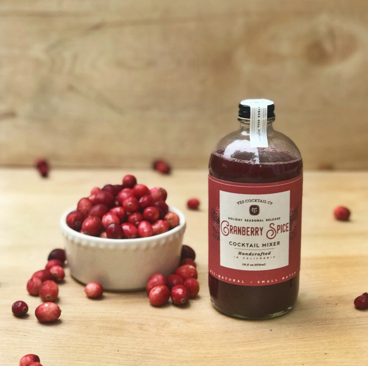 Cranberry Spice Cocktail Mixer