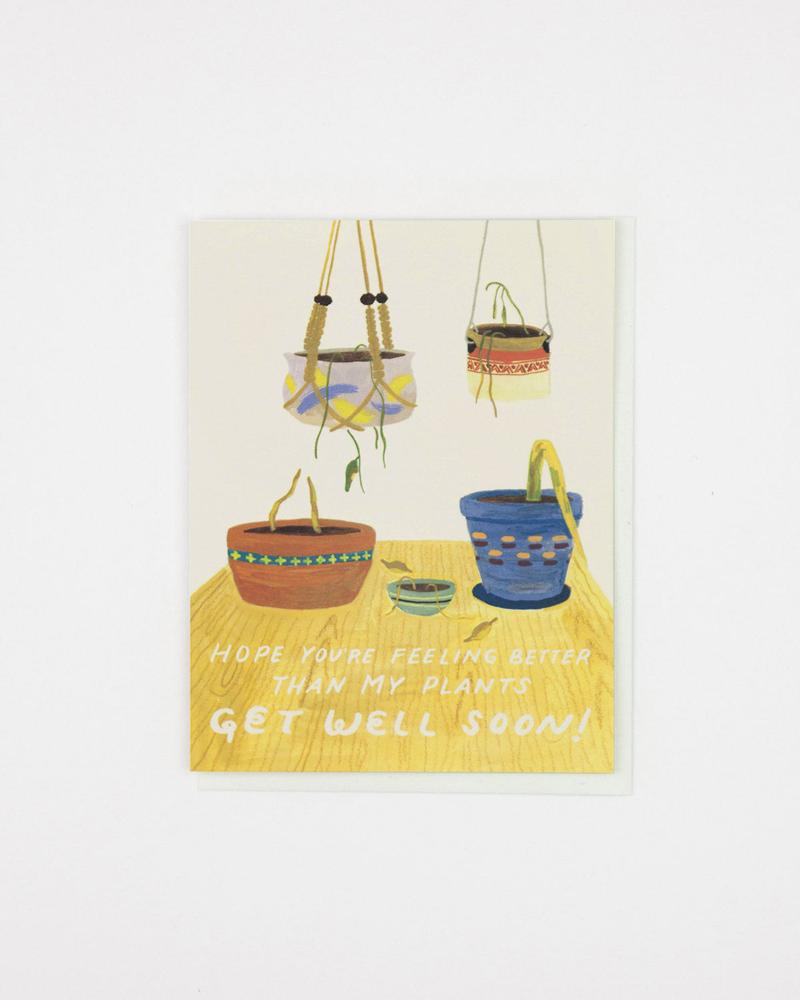 Better than my Plants Get Well Card - SA3