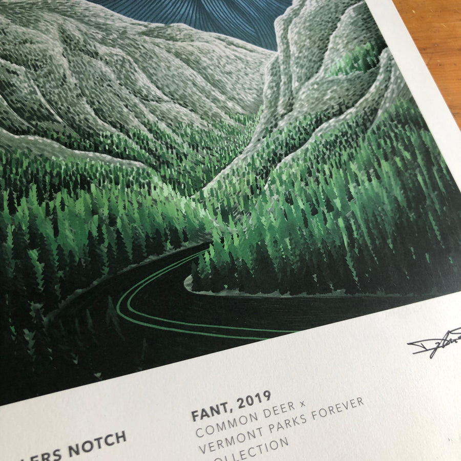 Vermont Parks Collection Print: Smugglers Notch State Park