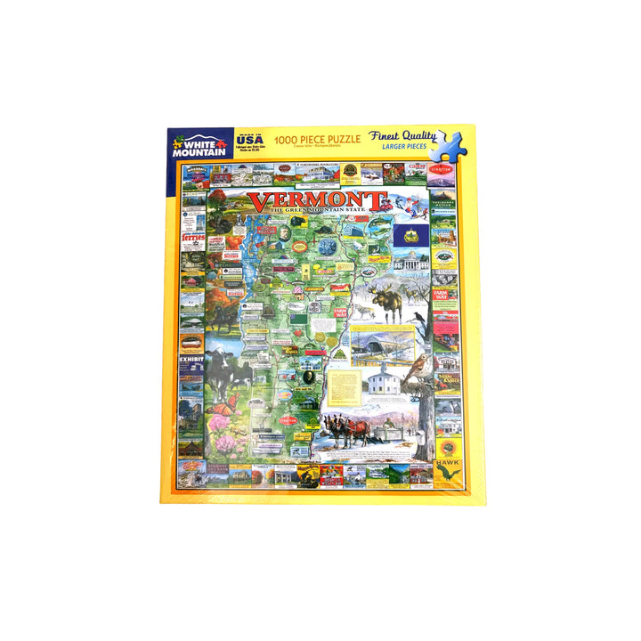 Vermont State 1000 Piece Puzzle