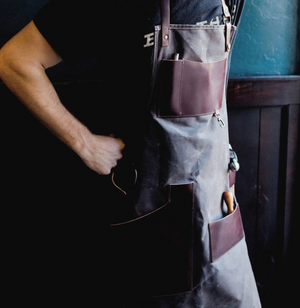 Journeyman Waxed Canvas & Leather Apron