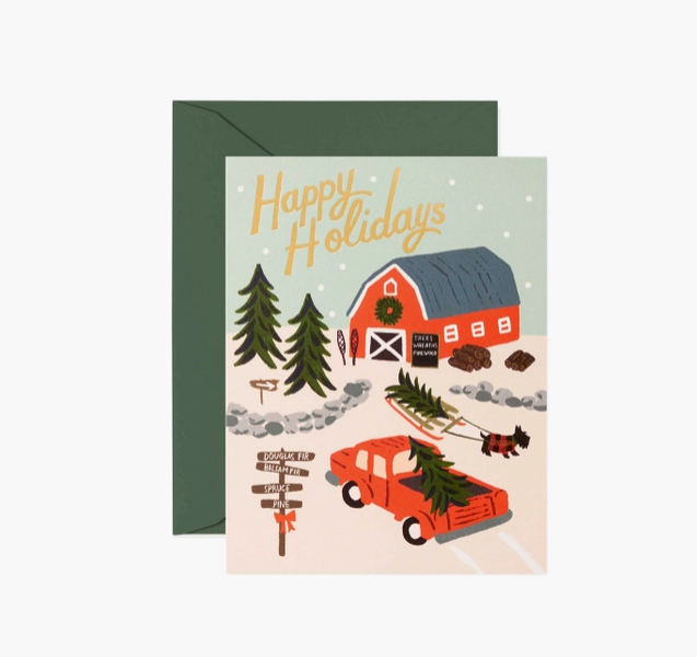 Holiday Tree Farm Card - RP7