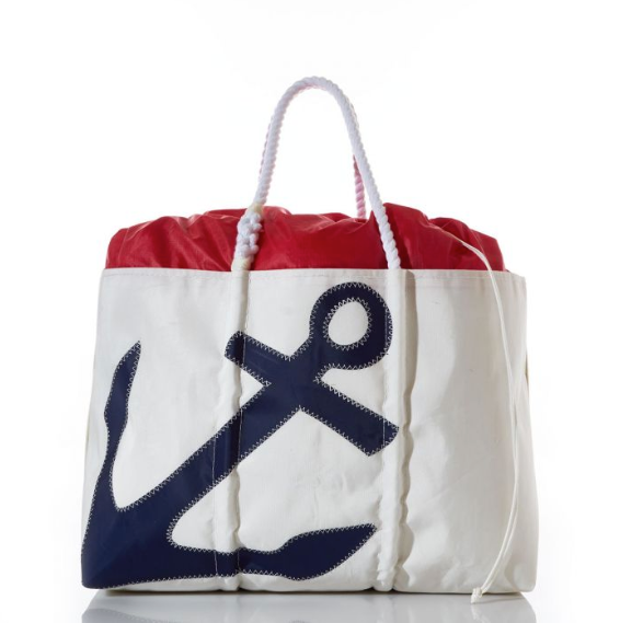 Expandable Sail Cloth Anchor Tote