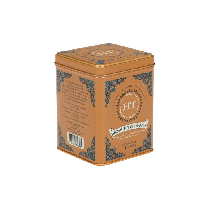 Decaf Hot Cinnamon Sunset Tea - Tin of 20 Sachets