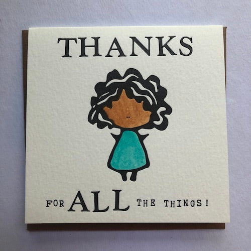 Thanks for all the Things - K1