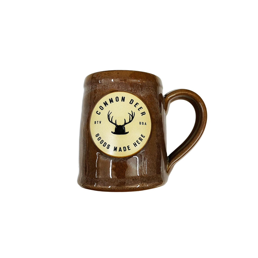 Common Deer Goods Made Here Mug - Brown Sand