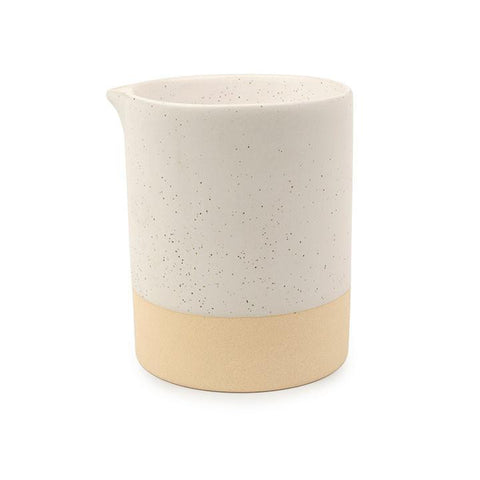 Mesa Black Speckled Snow Ceramic Candle - Black Salt & Birch