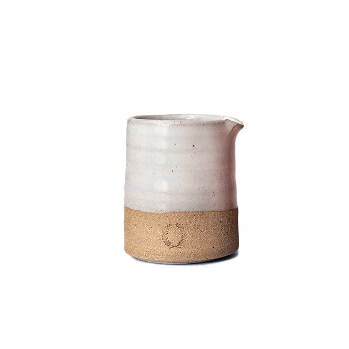 Small Stoneware Silo Pitcher