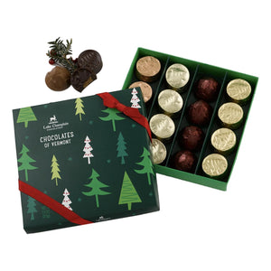 Holiday Chocolates of Vermont - 16 Piece Box