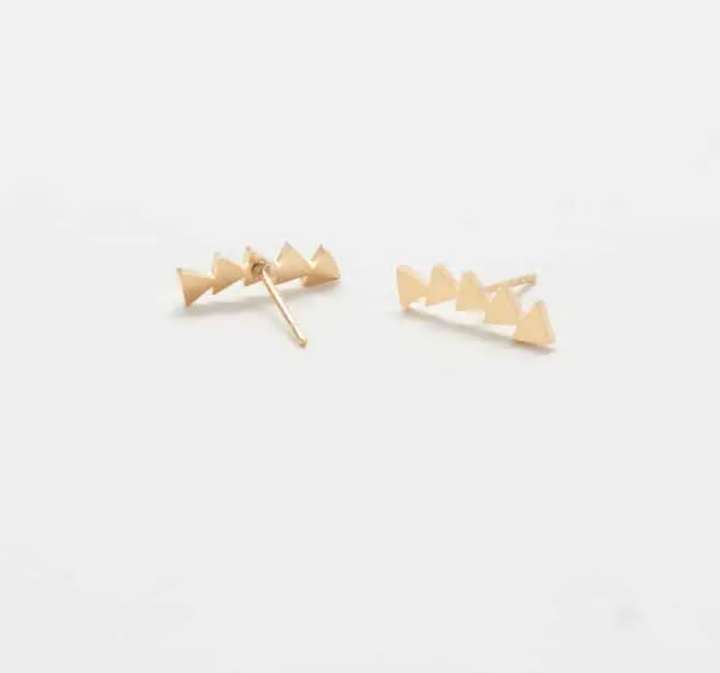 Gold Triangle Ear Crawlers