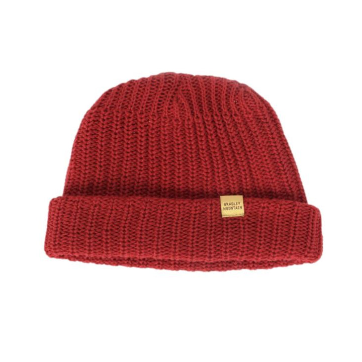 Cotton Watch Cap - Red
