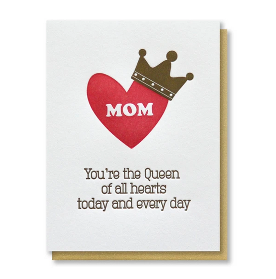 Mom Queen Of Hearts Card - KP7
