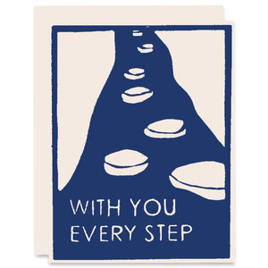 Stepping Stones with you every step card - HP3