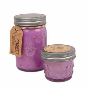 Lavender Thyme Relish Jar Candles
