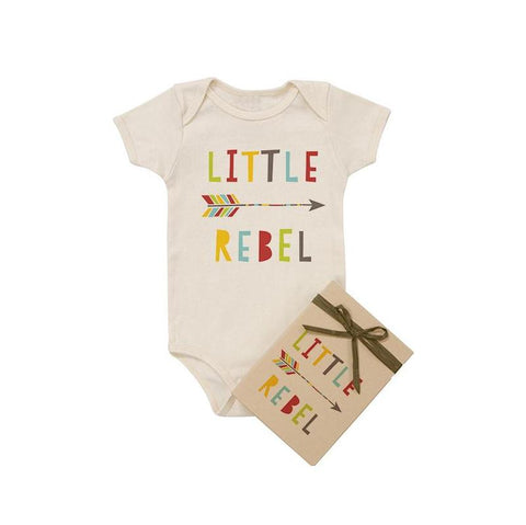 Little Rebel Organic Cotton Baby Bodysuit