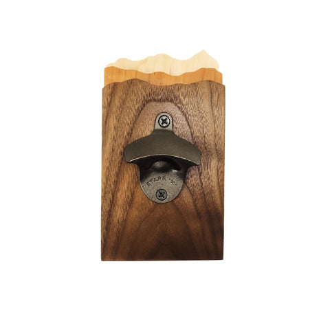Adirondack Mountain Scape Bottle Opener