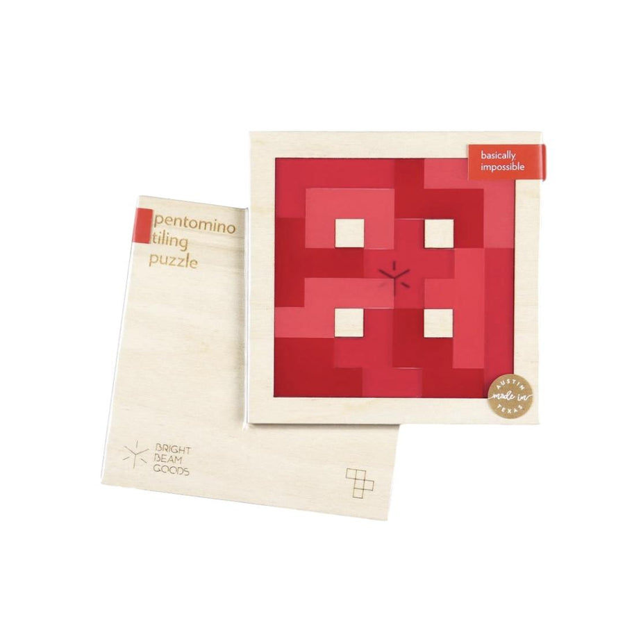 Strawberry Pentomino Tiling Puzzle