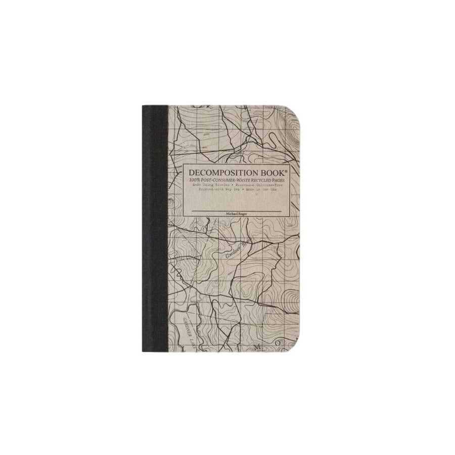 Pocket Decomposition Book - Topo Map Grid