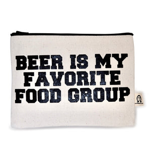 Beer Canvas Pouch