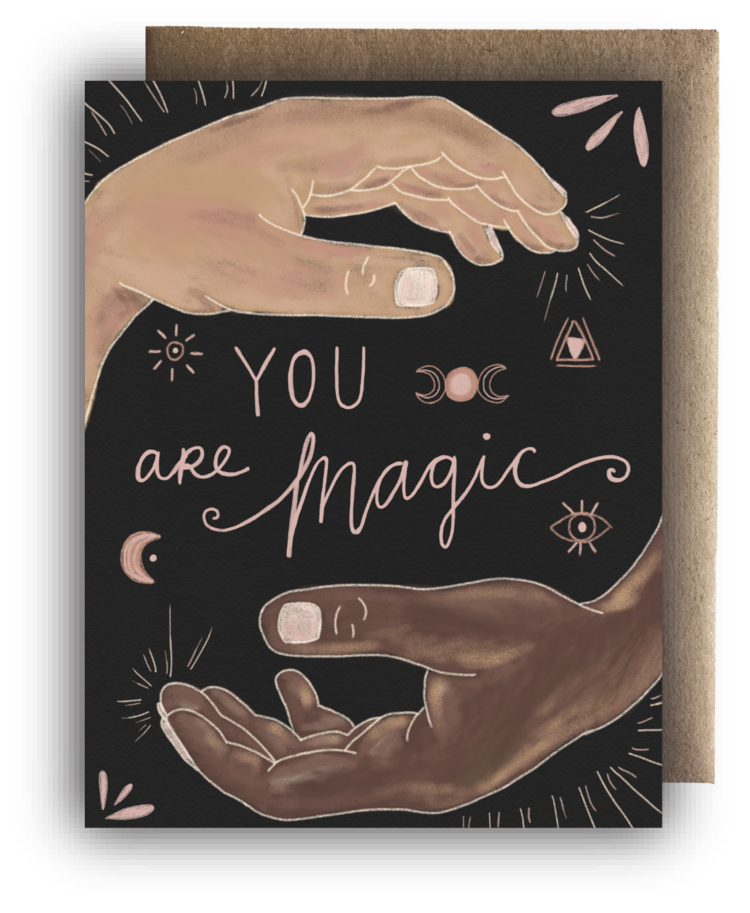 You are Magic Hands Card - MR1