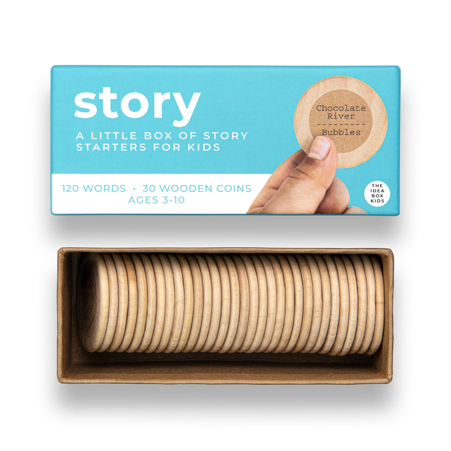 Idea Box - Story Starters for Kids
