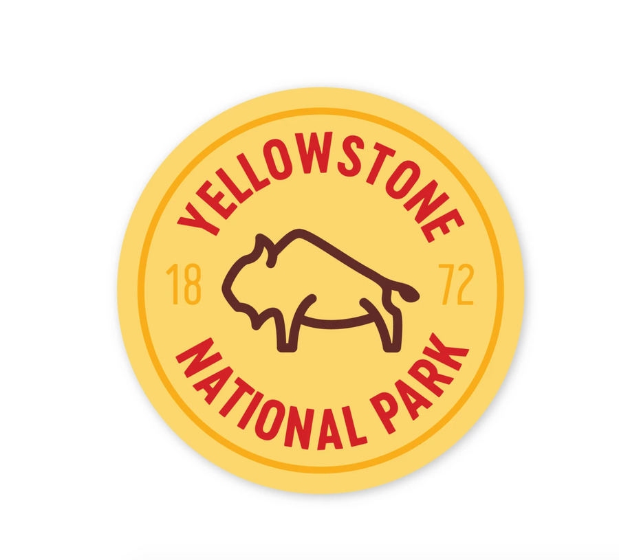 Yellowstone National Park Sticker