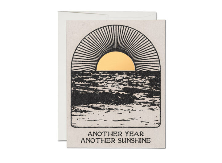 Another Year Another Sunshine Birthday Card - RC5