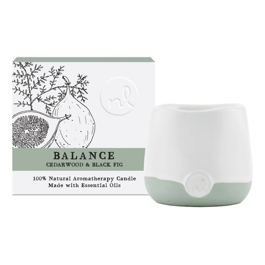 Balance Candle - Cedarwood & Fig