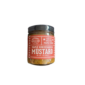 Vermont-Made Maple Horseradish Mustard