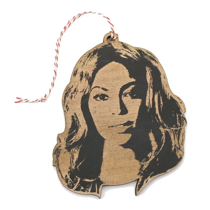 Famous Face Ornament - Beyonce