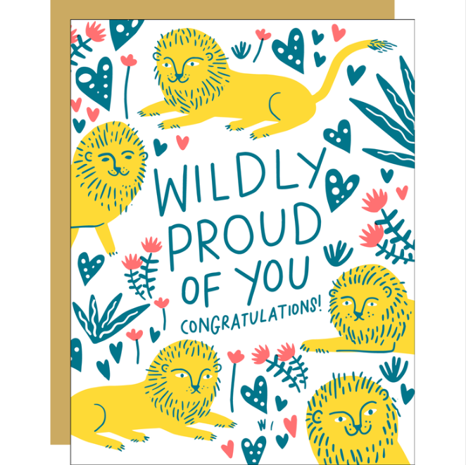 Wildly Proud Card - EP4
