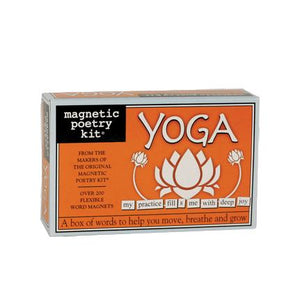Yoga Magnetic Poetry Kit