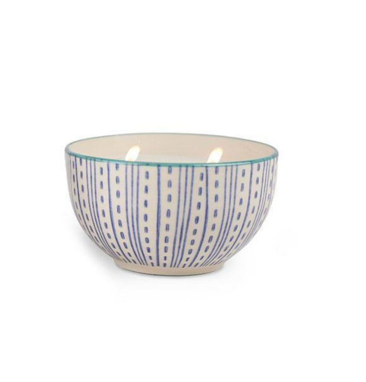 Vetiver Vanilla Candle in Boheme Ceramic Bowl - 7oz