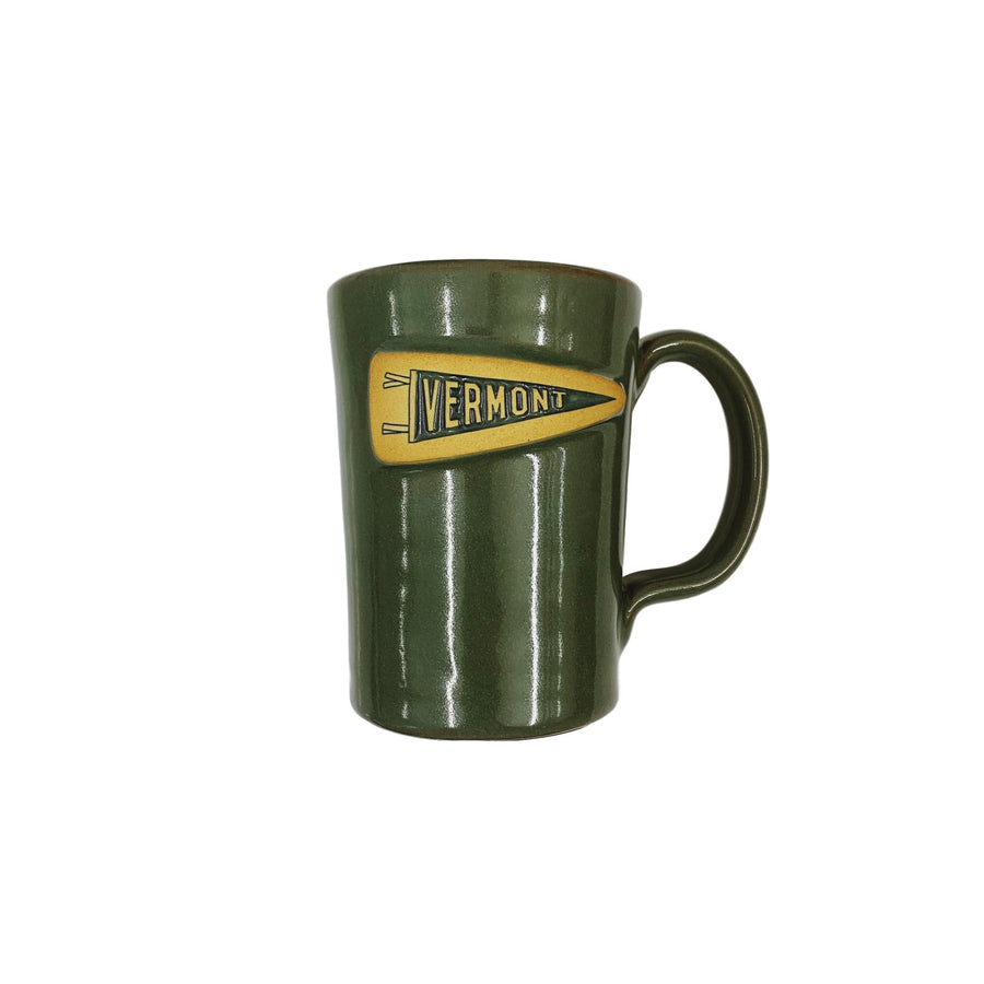 Common Deer Vermont Pennant Mug - Sage Green