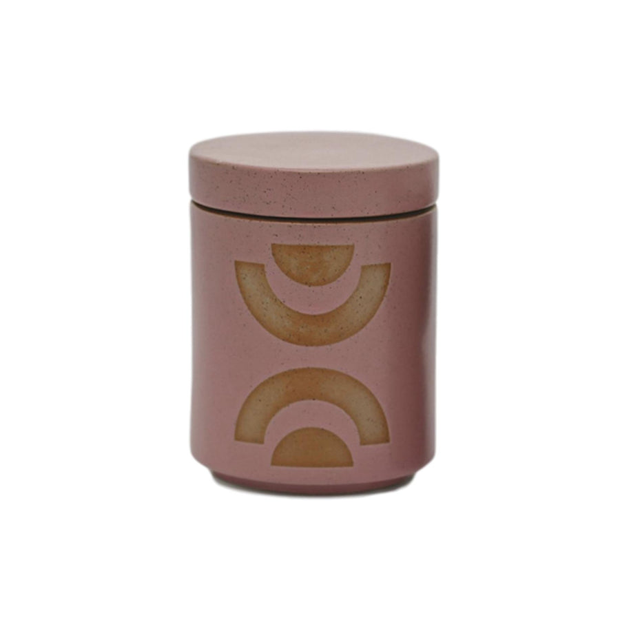 Abstract Shapes Planter Candle - Mandarin Mango