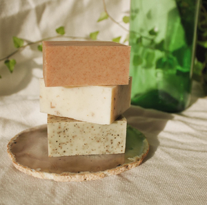 Moisturizing and Soothing Lavender + Sage Soap