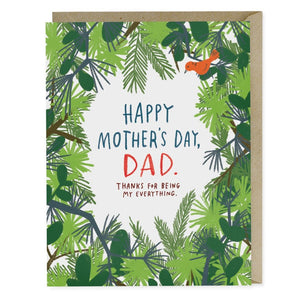 Happy Mother's Day Dad Card - EmD