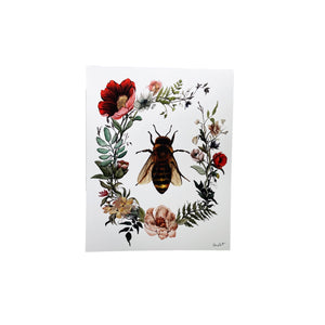 "This is Vermont Print Series II- ""Honey Bee In Bloom"" 8 x 10"