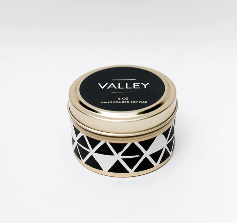 Valley Travel Tin Candle 6oz