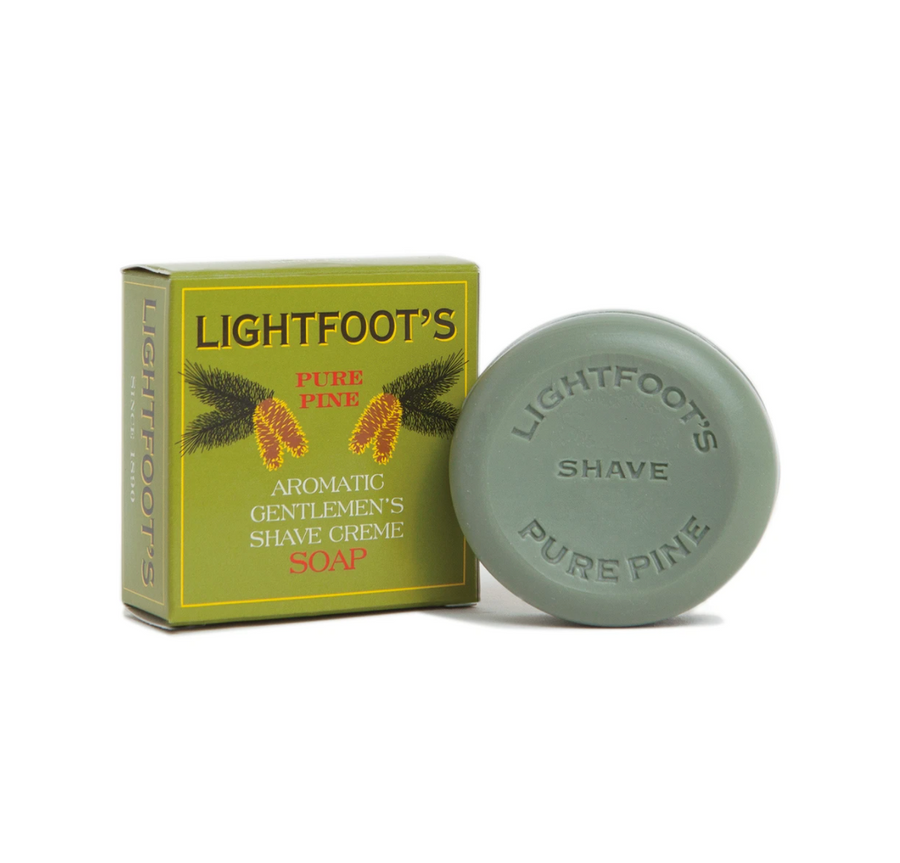 Lightfoot Shave Creme Soap