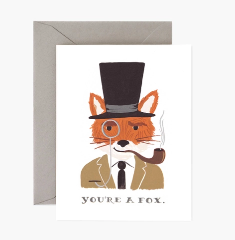 You're a Fox card - RP1