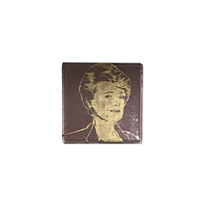 Golden Girls Glass Coaster - Blanche