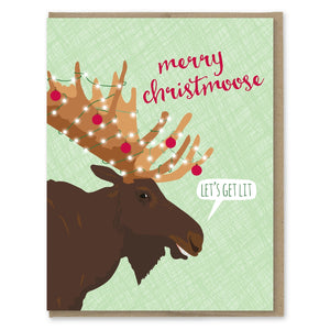 Christmoose Let's Get List Card - MP7