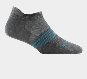 Women's Merino Wool Element No Show Tab Sock - Gray
