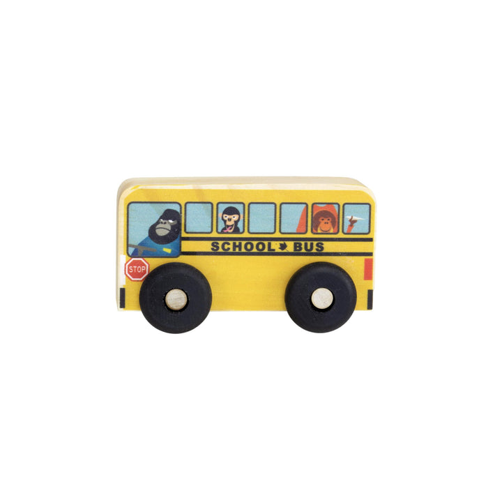 School Bus Wooden Toy