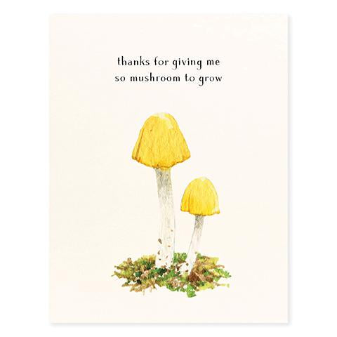 Yellow Cap Thank You Room to Grow Card - FP1